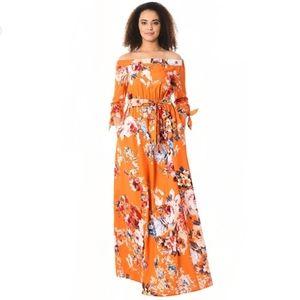 Eshakti Maxi Floral Dress